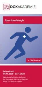 Flyer Akademiekurs Sportkardiologie Juli 2020