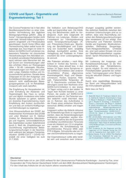 covid 19 und sport 1 kardiologie duesseldorf berrisch rahmel